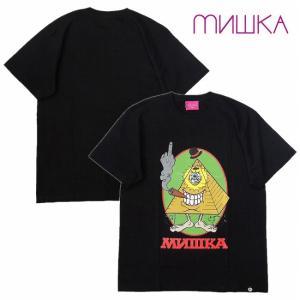 MISHKA ミシカ Tシャツ 半袖 プリント HUZZAH bless-web