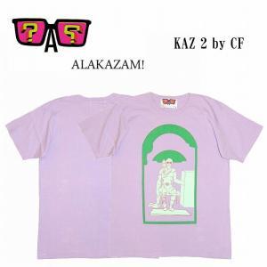半額セール ALAKAZAM アラカザム Tシャツ 半袖 グラフィックKAZ 2 by CF/LILAC 再入荷|bless-web
