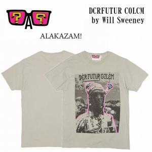 半額セール ALAKAZAM アラカザム Tシャツ 半袖 グラフィックDCRFUTUR COLCM by Will Sweeney/Lt.GREY 再入荷|bless-web