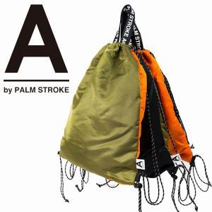 A by PALM STROK パームストローク バッグ カバン ナップサック 9月-10月発売|bless-web