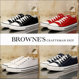 """予約終了 BROWNE'S craftsman ship ブラウンズクラフトマンシップ スニーカー シューズ キャンバスCanvas sneakers""""ALL DAYS"""" bless-web"""