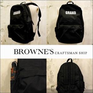 """予約終了 BROWNE'S craftsman ship ブラウンズクラフトマンシップ バックパック リュックSecond hand Backpack """"CORDURA FABRIC""""(L) bless-web"""