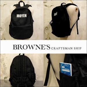 """予約終了 BROWNE'S craftsman ship ブラウンズクラフトマンシップ バックパック リュックSecond hand Backpack """"CORDURA FABRIC""""(M) bless-web"""