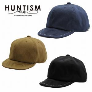 再入荷 HUNTISM ハンティズム キャップ 帽子 つば短め UMPIRE CAP|bless-web