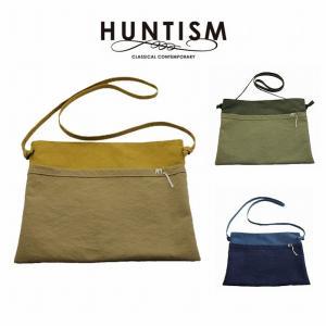 HUNTISM ハンティズム サコッシュ ミニショールダー バッグ SW Shoulder Bag|bless-web