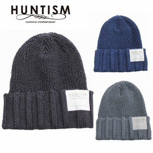 再入荷 HUNTISM ハンティズム リネン ニット帽 ビーニー Linen Watch Cap|bless-web