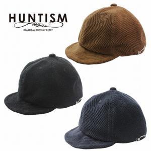 再入荷 HUNTISM ハンティズム コーディロイキャップ 帽子 つば短め Corduroy Umpire Cap|bless-web