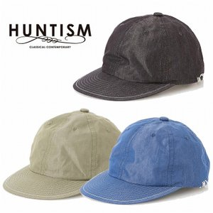HUNTISM ハンティズム キャップ 帽子 シャンブレー CN Chambray Cap|bless-web