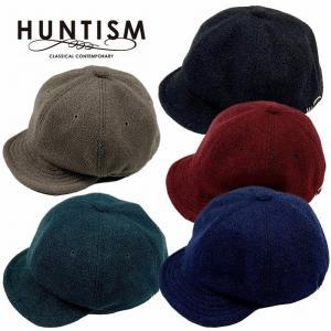 HUNTISM ハンティズム キャップ 帽子 アンパイアキャップ Loop Knit Umpire Cap|bless-web