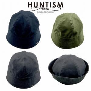 再入荷 HUNTISM ハンティズム セーラーハット 帽子 リバーシブル Reversible Sailor Hat|bless-web