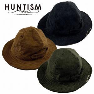 再入荷 HUNTISM ハンティズム コーディロイハット 帽子 マウンテンハット 4Panel Corduroy Hat|bless-web