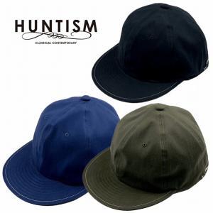 HUNTISM ハンティズム キャップ 帽子 ベースボールキャップ Flat Visor Cap|bless-web