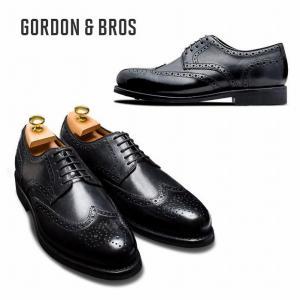 ゴードン&ブロス GORDON&BROS 革靴 シューズ グッドイヤーウェルテッド LEVET2318RA  Wing tip shoes bless-web