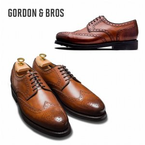 ゴードン&ブロス GORDON&BROS 革靴 シューズ グッドイヤーウェルテッド LEVET2318RC  Wing tip shoes bless-web