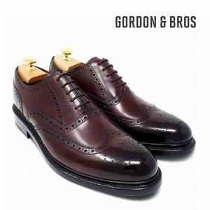 ゴードン&ブロス GORDON&BROS 革靴 シューズ グッドイヤーウェルテッド LEVET2506LF Wing tip shoes bless-web