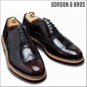 (SOLDOUT)ゴードン&ブロス GORDON&BROS 革靴 シューズ グッドイヤーウェルテッド LEVET2506LG Wing tip bless-web