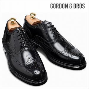 ゴードン&ブロス GORDON&BROS 革靴 シューズ グッドイヤーウェルテッド LEVET2506LI Wing tip shoes bless-web