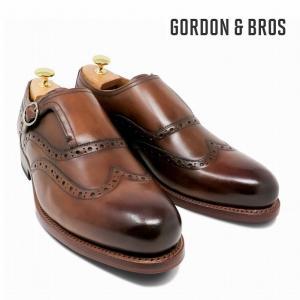 ゴードン&ブロス GORDON&BROS 革靴 シューズ グッドイヤーウェルテッド LEVET5087LC Monk bless-web