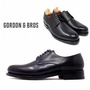 ゴードン&ブロス GORDON&BROS 革靴 シューズ グッドイヤーウェルテッド LEVET5916LA  Plane Tou shoes bless-web