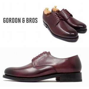 ゴードン&ブロス GORDON&BROS 革靴 シューズ グッドイヤーウェルテッド LEVET5916LF Plane Tou shoes bless-web