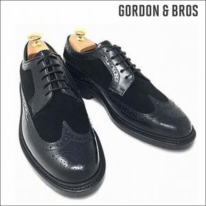 ゴードン&ブロス GORDON&BROS 革靴 シューズ グッドイヤーウェルテッド LUCA5008LA Wing tip shoes bless-web