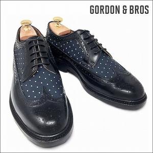 ゴードン&ブロス GORDON&BROS 革靴 シューズ グッドイヤーウェルテッド LUCA5008LC Wing tip shoes bless-web