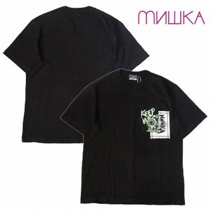 MISHKA ミシカ Tシャツ 半袖 プリント Re STYLE PULLOVER HOODIE bless-web