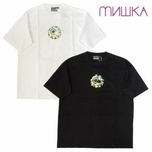 MISHKA ミシカ Tシャツ 半袖 プリント KEEP WATCH TEE M21000008 bless-web