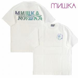 MISHKA ミシカ Tシャツ 半袖 プリント REFLECTOR NOISE KEEP WATCH TEE bless-web