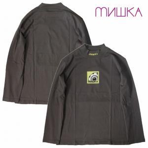 MISHKA ミシカ カットソー ロンTEE モックネック MOCK-NECK BOX K.W L/S TEE bless-web