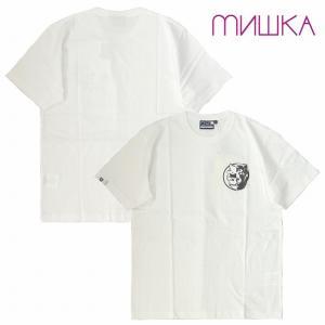 MISHKA ミシカ Tシャツ 半袖 プリント MONO CYCO SIMON & DEATH ADDERS TEE bless-web