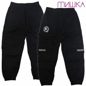 20%OFF MISHKA ミシカ パンツ カーゴ ジョガーパンツ CARGO BLACK JOGGER PANTS bless-web