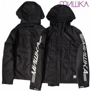 20%OFF MISHKA ミシカ マウンテンパーカー ジャケット 黒 MSK TRANSPORT MOUNTAIN PARKA|bless-web