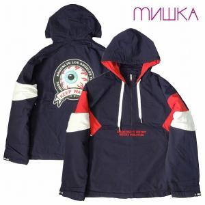 20%OFF MISHKA ミシカ ナイロンジャケット プルオーバーパーカー NYLON JACKET|bless-web