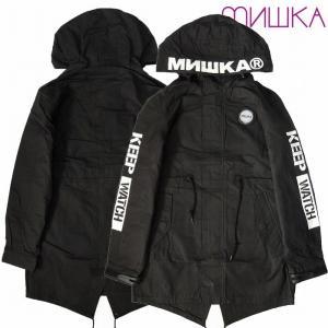 20%OFF MISHKA ミシカ モッズコート ジャケット 黒 COAT|bless-web