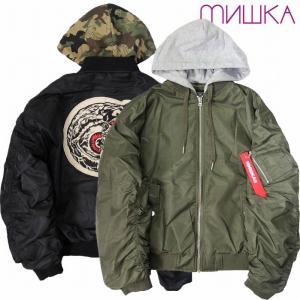 20%OFF MISHKA ミシカ MA-1 ジャケット パーカー MA-1 JACKET|bless-web