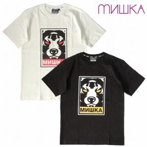 20%OFF MISHKA ミシカ Tシャツ 半袖 プリント DEATH ADDERS TEE|bless-web