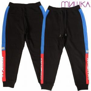 20%OFF MISHKA ミシカ スウェットパンツ ロゴ 切り替え SWEAT PANT|bless-web