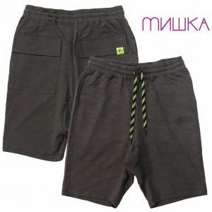 20%OFF MISHKA ミシカ サルエルショーツ スウェットショーツ パンツ SARUERU SWEAT SHORTS|bless-web