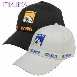 20%OFF MISHKA ミシカ キャップ 帽子 ストラップバック KEEP WATCH LOGO STRAPBACK|bless-web