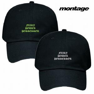 再入荷 montage モンタージュ Fairy gone フェアリーゴーン キャップ 帽子 fairy control agency cap|bless-web