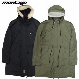 montage モンタージュ モッズコート ミリタリージャケット トレンチコート GABA BOA MODS COAT|bless-web