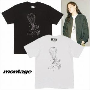半額セール montage モンタージュ Tシャツ 半袖 グラフィックFALLEN ANGEL TEE|bless-web