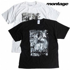 montage モンタージュ Fairy gone フェアリーゴーン Tシャツ 半袖 story mind tee|bless-web