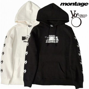 VIRGO ヴァルゴ montage モンタージュ パーカー プルオーバーVIRGOwearworks×montage SWEAT PARKA|bless-web