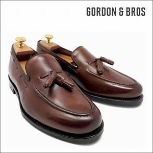 ゴードン&ブロス GORDON&BROS 革靴 シューズ ローファー グッドイヤーウェルテッド PADDINGTON5865HC Tassel loafers bless-web