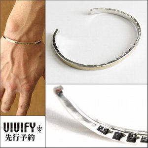 VIVIFY ビビファイ バングル ブレスレット シルバーHallmarks k10Gold Bangle 受注生産|bless-web
