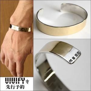 VIVIFY ビビファイ バングル シルバー ブレスレットHallmarks k10 Wide Bangle 受注生産|bless-web
