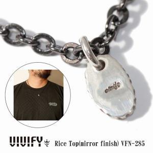 VIVIFY ビビファイ ネックレス シルバー Rice Top(mirror finish)|bless-web