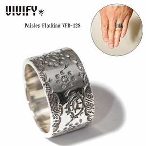 VIVIFY ビビファイ リング シルバー Paisley FlatRing|bless-web
